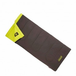 Coleman Heaton Peak Comfort Slaapzak 220x85 cm Grey/Yellow