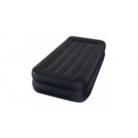 Intex 64122 1-Persoons Twin Pillow Rest Airbed + Pomp 191x99x42 cm