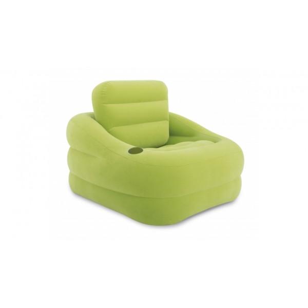 Opblaasbare Lounge Stoel.Intex 68586 Opblaasbare Lounge Stoel