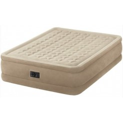 Intex Ultra Plush Beige 2-persoons Luchtbed 203x152x46 cm