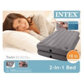 Intex 67743 2in1 Twin Size Luchtbed 99x191x46cm