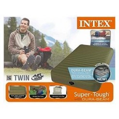 Intex 68726 Dura Beam Twin Super Tough Airbed 99x191x20cm