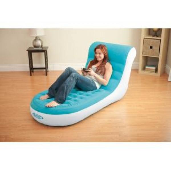 Lounge Stoel Opblaasbaar.Opblaasbare Stoel Intex 68880np Opblaasbare Splash Lounge